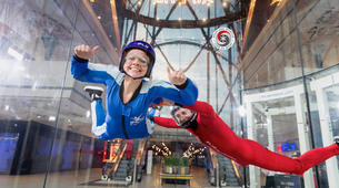 Indoor skydiving-Paris-First time flight in Paris-1