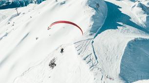 Paragliding-La Plagne, Paradiski-Tandem paragliding in La Plagne, Alps-6