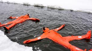 Snow Experiences-Helsinki-Survival Suit Floating in Helsinki-1