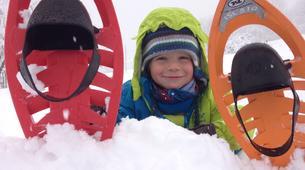 Snowshoeing-Courchevel, Les Trois Vallées-Guided snowshoeing excursion in Courchevel-1