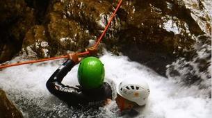 Canyoning-Lake Garda-Intermediate Canyoning Tour in Vajo dell'Orsa Canyon near Lake Garda-3