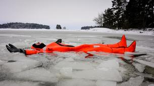 Snow Experiences-Helsinki-Winter Hovercraft Excursion & Ice Floating in Helsinki-4