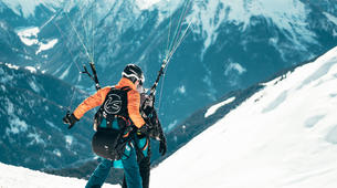 Paragliding-La Plagne, Paradiski-Tandem paragliding in La Plagne, Alps-7