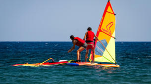 Windsurf-Santorin-Windsurfing for beginners in Santorini-1