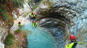 Canyoning-Lake Garda-Canyoning Tour from Vione Canyon to Lake Garda-1