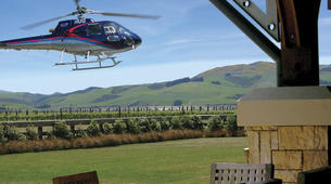 Helicopter tours-Christchurch-Canterbury Vineyard Tour, Helicopter Flight with Lunch and Wine Tasting-5
