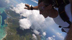 Parachutisme-Moorea-Saut en parachute tandem à Moorea en face de Tahiti-6