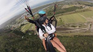 Paragliding-Wilderness National Park-Tandem Paragliding flight from Garden Route coast-2