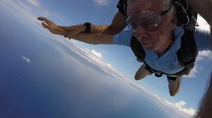 Parachutisme-Moorea-Saut en parachute tandem à Moorea en face de Tahiti-4
