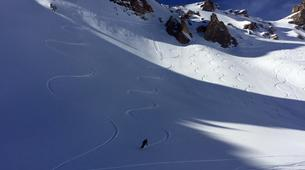 Backcountry Skiing-Bonneval-sur-Arc, Haute Maurienne-Off Piste Skiing in Bonneval-sur-Arc, French Alps-1