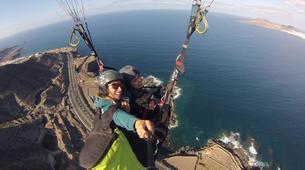 Paragliding-Gran Canaria-Tandem paragliding in Playa de las Canteras, Gran Canaria-8