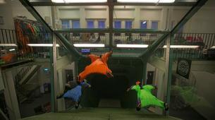 Indoor skydiving-Stockholm-First time Indoor Wingsuit Flight in Stockholm, Sweden-5
