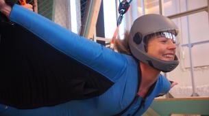 Indoor skydiving-Stockholm-First time Indoor Wingsuit Flight in Stockholm, Sweden-4