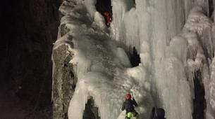 Cascade de Glace-Bessans, Haute Maurienne-Cascade de Glace sur le Rocher de la Barmette, Bessans-5
