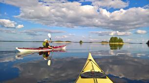 Kayaking-Linnansaari National Park-Canoe/Kayak Beginner Course in Oravi near Linnansaari National Park-1