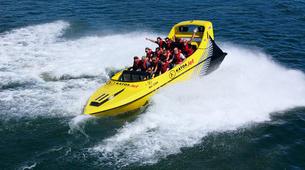 Jet Boating-Rotorua-Jet boating excursion around Mokoia Island, Lake Rotorua-3