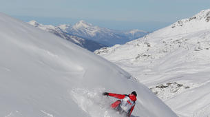 Backcountry Skiing-Val Thorens, Les Trois Vallées-Freeride skiing or snowboarding sessions in Val Thorens-6
