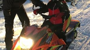 Snowmobiling-Chamrousse-Introduction to snowmobile driving in Chamrousse-2