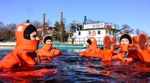 Snow Experiences-Helsinki-Survival Suit Floating in Helsinki-5