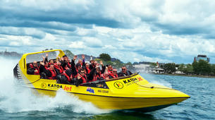 Jet Boating-Rotorua-Speed, spins and cultural jet boating excursion on Lake Rotorua-4