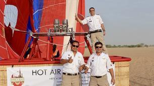 Hot Air Ballooning-Dubai-Hot Air Balloon Flight in Dubai-3