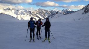 Ski touring-Lake Garda-Guided Ski Touring on Mount Baldo near Lake Garda-2