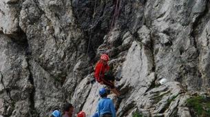Rock climbing-Cortina d'Ampezzo-Climbing Course in Cinque Torri Mountains near Cortina d' Ampezzo-3