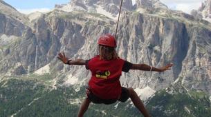 Rock climbing-Cortina d'Ampezzo-Climbing Course in Cinque Torri Mountains near Cortina d' Ampezzo-4
