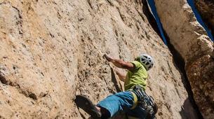 Rock climbing-Cortina d'Ampezzo-Climbing Course in Cinque Torri Mountains near Cortina d' Ampezzo-2