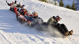 Snow Experiences-La Plagne, Paradiski-Snake Sledding in La Plagne, Alps-3