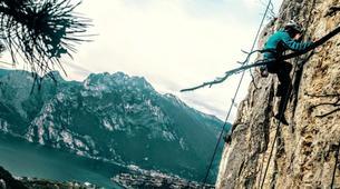 Rock climbing-Lake Garda-Advanced Rock Climbing Course near Lake Garda-1