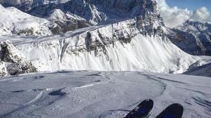 Ski touring-Cortina d'Ampezzo-Sellaronda Ski Tour in the Dolomites near Cortina d'Ampezzo-3
