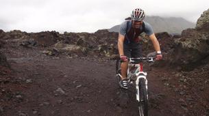 Mountain bike-Gianyar-MTB Tour of the Mt. Batur Lava Fields-1