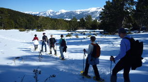 Snowshoeing-Font Romeu-Guided Snowshoe Hike from Mont-Louis, Pyrenees-3