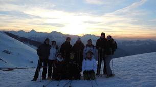 Snowshoeing-Lourdes-Snowshoeing excursion in the Hautacam crests near Lourdes-4