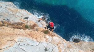 Via Ferrata-Fluminimaggiore-Via Ferrata on the Pan di Zucchero off the coast of Sardinia-4