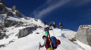 Ski touring-Lake Garda-Ski Mountaineering Weekend near Lake Garda-1