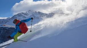 Ski de Randonnée-Cortina d'Ampezzo-Backcountry Ski Tour in Tre Cime di Lavaredo near Cortina d'Ampezzo-1