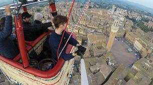 Hot Air Ballooning-Siena-Medieval Hot Air Balloon Tour over Siena near Florence-2