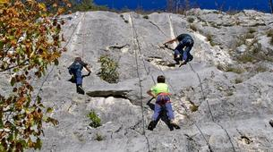 Escalade-Lac de Garde-Private Group Rock Climbing Excursion near Lake Garda-1