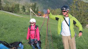 Paragliding-La Plagne, Paradiski-Tandem paragliding in La Plagne, Alps-8