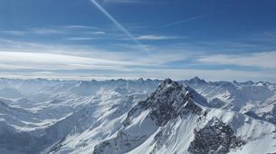Helicoptère-Megève, Evasion Mont Blanc-Vol en Hélicoptère au-dessus du Mont Blanc depuis Megève-1