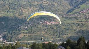 Paragliding-La Plagne, Paradiski-Tandem paragliding in La Plagne, Alps-10