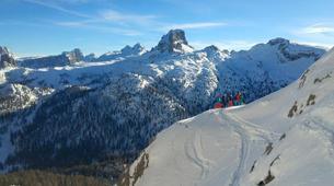 Ski touring-Cortina d'Ampezzo-Sellaronda Ski Tour in the Dolomites near Cortina d'Ampezzo-6