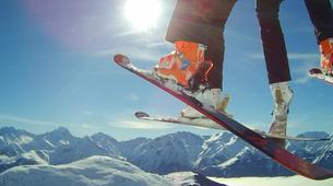 Paragliding-Alpe d'Huez Grand Domaine-Tandem paragliding flight in Alpe d'Huez-7