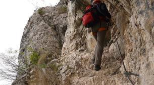 "Via Ferrata-Lake Garda-Extreme Via Ferrata ""The Smugglers Path"" in Lake Garda-6"
