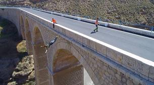 Saut à l'élastique-Costa Almería-Bridge Swinging from Gador in Almeria-4