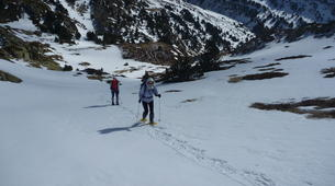 Snowshoeing-Font Romeu-Guided Snowshoe Hike from Mont-Louis, Pyrenees-5