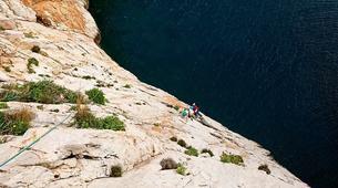 Via Ferrata-Fluminimaggiore-Via Ferrata on the Pan di Zucchero off the coast of Sardinia-1