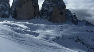 Ski de Randonnée-Cortina d'Ampezzo-Backcountry Ski Tour in Tre Cime di Lavaredo near Cortina d'Ampezzo-2